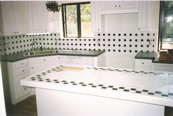 Backsplash + Countertop